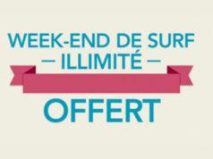 Bouygues Telecom - Un weekend de surf illimité pour le 1er anniversaire de sa 4G