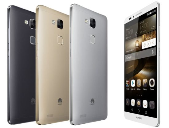 """#IFA2014 - Huawei dévoile un smartphone équipé d'un écran de 6"""" et d'un processeur octo-core : le Ascend Mate 7"""