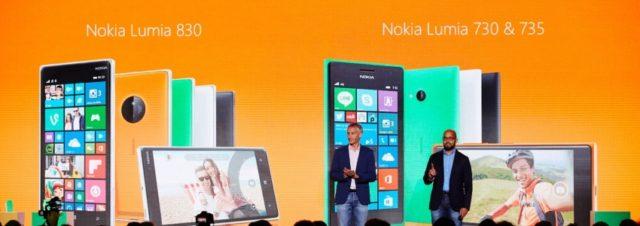 #IFA2014 - Microsoft présente ses Lumnia 830 et 735 : 2 smartphones dotés de fonctions évoluées à des prix accessibles