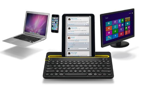 #IFA 2014 - Logitech a présenté son nouveau clavier Bluetooth, le K480