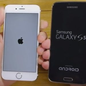 Galaxy S5 vs iPhone 6 - Quel est le plus rapide? [video]