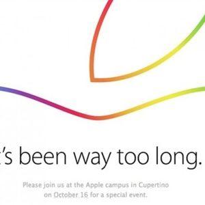 Apple officialise la tenue d'une Keynote pour le 16 octobre 2014
