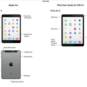 Keynote Apple du 16 octobre 2014 : les iPad Air 2 (ou iPad 6) et iPad Mini 3 dévoilés par erreur