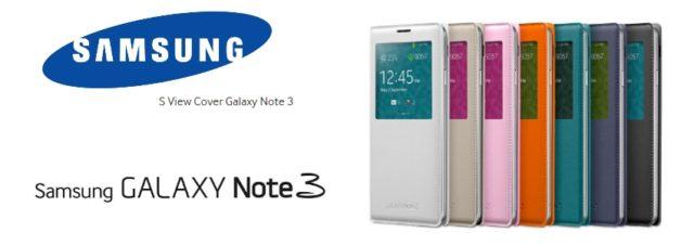 Samsung S View Cover, l'étui officiel du Galaxy Note 3 [Test]