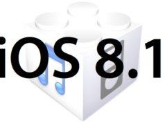 L'iOS 8.1 est disponible au téléchargement [liens directs]