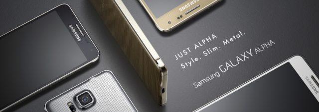 Samsung Galaxy Alpha : prise en main