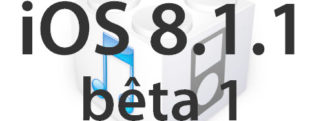 L'iOS 8.1.1 bêta 1 est disponible pour les développeurs