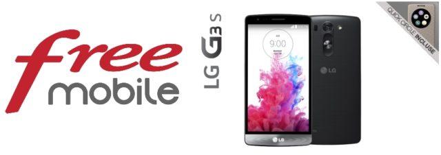 Un étui LG Quick Circle offert pour toute commande d'un LG G3S chez Free