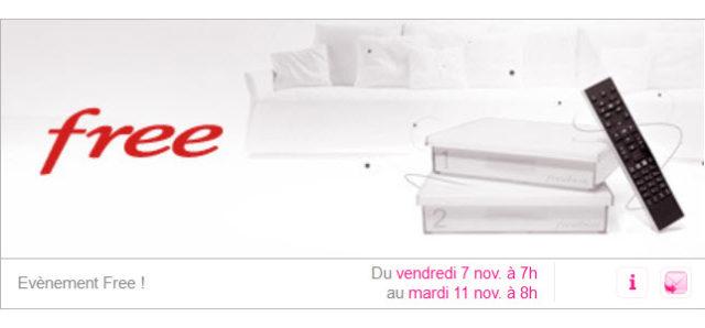 Free de retour sur Vente-privee.com du 7 au 11 novembre 2014