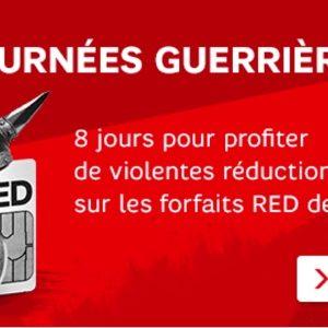 SFR brade ses offres RED pendant une semaine
