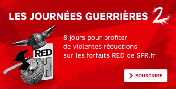 SFR brade ses offres RED pendant une semaine