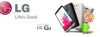 LG : 1er fabricant à déployer, sur le LG G3, la mise à jour Android 5.0 Lollipop