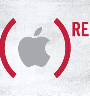 Apple soutient (RED)