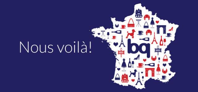 bq arrive en France