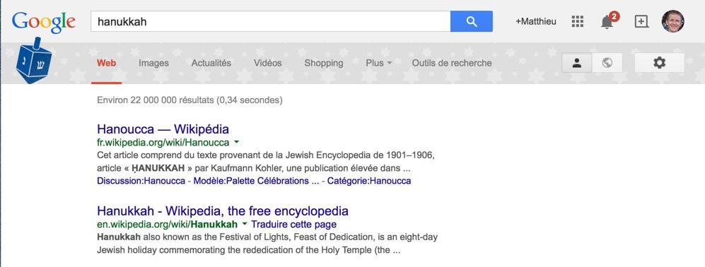 "Google : tapez ""Christmas"", ""Hanukkah"", ""Kwanzaa"" et maintenant ""Festivus"" et regardez…"