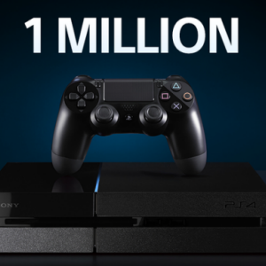 Sony passe le cap du million de PS4 vendues en France!