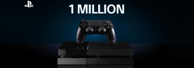 Sony passe le cap du million de PS4 vendues en France!