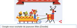 Google vous souhaite de joyeuses fêtes [Doodle]