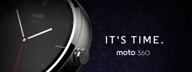 Motorola Moto 360 : une belle montre connectée aux allures de montre classique