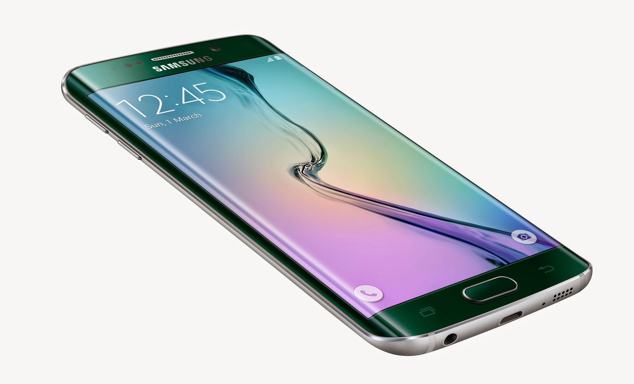 #MWC2015 - Samsung officialise le Galaxy S6 Edge