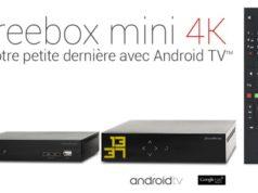 #Free annonce la Freebox Mini 4K, la 1ère box Internet 4K sous Android TV!