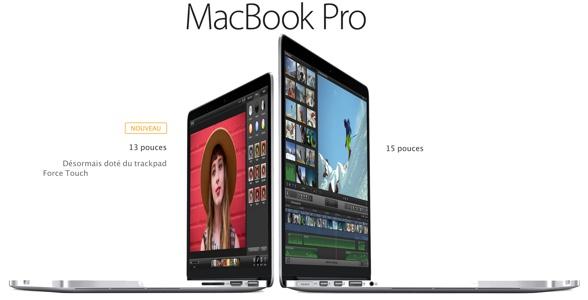 Retour sur le nouveau MacBook Pro avec écran Retina 13 pouces version 2015