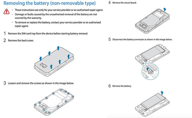 #MWC2015 - La batterie du Galaxy S6 finalement amovible mais il faut le vouloir!