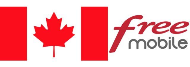 Free Mobile : le roaming depuis le Canada maintenant inclus