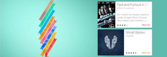 3ème anniversaire de Google Play : Fast and Furious 4 et Ghost Stories gratuits