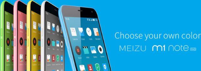 #MWC2015 - Meizu annonce la sortie de son m1 note en France