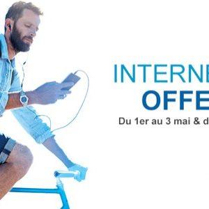 #4GBouygues - Bouygues Telecom offre 2 week-ends de surf illimité les 1er et 8 mai 2015