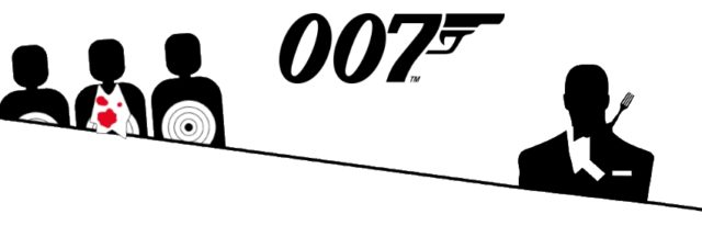 James Bond et la gastronomie [Infographie]