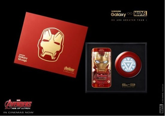 Samsung Galaxy S6 Edge : la version Iron Man est disponible en Corée