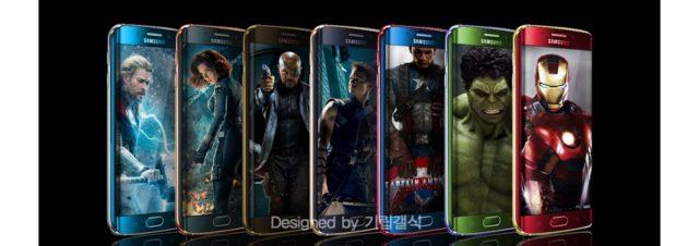 Samsung Galaxy S6 Edge : devenez (presque) un super-heros avec l'édition Iron Man