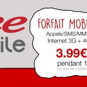#FreeMobile brade son forfait à 19,99€ sur Vente-privee.com à 3,99€/mois jusqu'au 23 juin