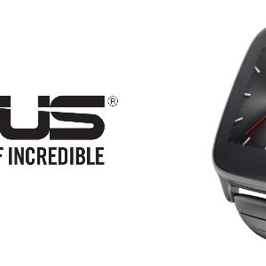 Asus officialise sa montre Asus Zenwatch 2