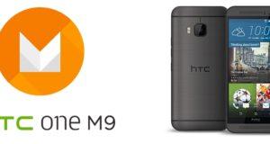 Le HTC One M9 recevra la mise à jour Android M