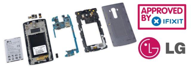 LG G4 : iFixit lui attribue une très bonne note pour la réparation