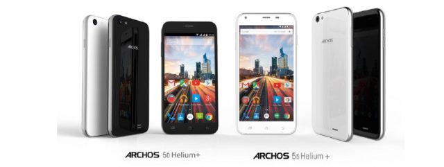 Nouvelle gamme Archos Helium +
