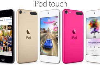 Apple renouvelle sa gamme d'iPod surtout avec l'iPod Touch 6G