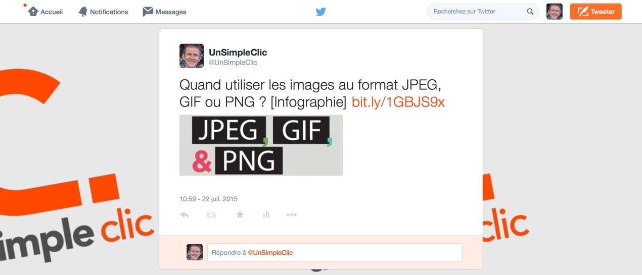 L'image de fond d'écran de nos profils Twitter a été supprimée!