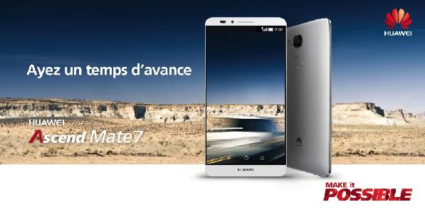 Huawei : une croissance record pour le 1er semestre 2015