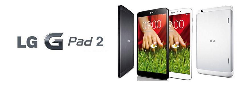 Une tablette LG G Pad 2 pour cet automne ?