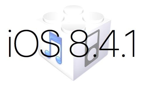 L'iOS 8.4.1 est disponible au téléchargement [Liens directs]