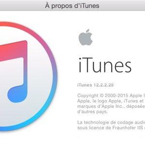 iTunes 12.2.2 est disponible au téléchargement [Liens directs]