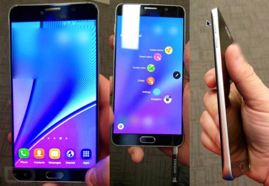 Le Galaxy Note 5 ferait mieux que les Galaxy S6 sur AnTuTu
