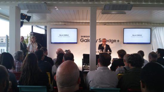 Lancement du smartphone équipé du plus grand incurvé au monde : le Samsung Galaxy S6 Edge+