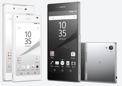 #IFA2015 - Sony présente les Xperia Z5, Xperia Z5 Compact et Xperia Z5 Premium