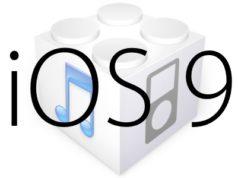 L'iOS 9 est disponible au téléchargement [liens directs]