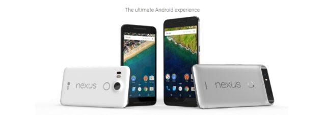 Conférence Google : les Nexus 5X, Nexus 6P et la Pixel C sont officiels